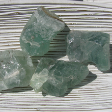 Rough Fluorite Chunks, 2""