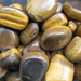 Tigers Eye Tumbled Stones, Large Tumbled Stones
