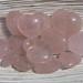 Rose Quartz Heart Stones