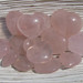 Rose Quartz Heart Stones