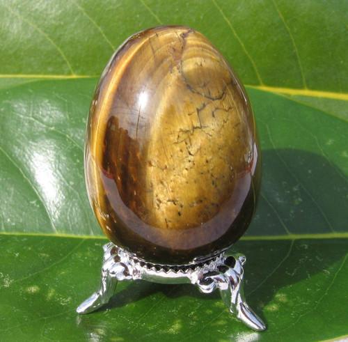 Tiger's Eye Egg, Polished 35mm Eggs
