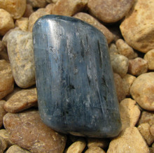 POLISHED BLUE KYANITE ~ALIGNS CHAKRAS~DREAM RECALL~REMOVES BLOCKS 2376