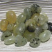 Tumbled Prehnite with Epidot