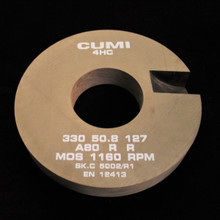330 x  50.8 x 127 A80RR Cincinnati Slotted (CW126)
