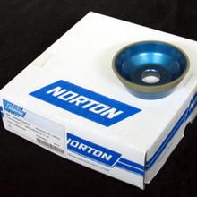 75 x 30 x 20 - 11V9 Resin Bonded Diamond Wheel Taper Cup 7958732859 (Norton)