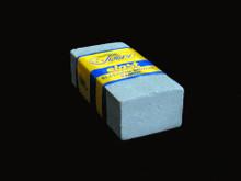 Rubber Sanding Block - 50 x 20 x 80mm - (DS53) Coarse
