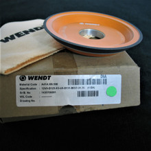 125 x 20 x 31.75 - 12V9 Resin Bonded Diamond Dish Wheel WENDT (DW61)
