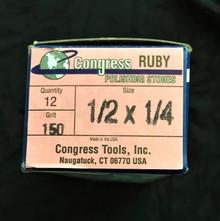 Congress Polishing RUBY 150 Grit - 6 x 13 x 150mm - (DS176) Pk 12