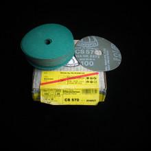 "Fibre Disc - 4"" P100 Klingspor  CS570 Inox Stainless (204827) Pk 25"