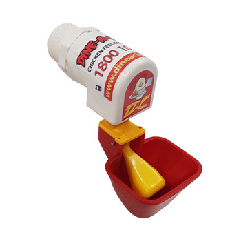Create an instant Chicken Waterer with a Drum and a Dine a Chook Lubing Cup Outlet. Tool-free installation is possible with a professional-grade part. Buy 3, get 1 FREE!