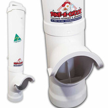 PVC Waste Reducing Large Chicken feeder by Dine A Chook