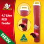 Exclusive Red Chicken Feeder by Dine A Chook NZ