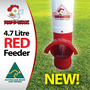 Waterproof - Waste Reducing - Automatic Chicken Feeder by Dine a Chook