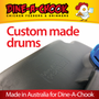 Our 20 Litre Drums will last longer than cheap imports. Made in Australia to our specifications, they are UV treated to resist photo degradation, brittleness and cracking. 100 % contaminant-free!