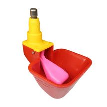 Chicken Lubing Cup with exclusive pink float water regulator