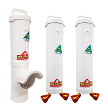 Chicken Feeder and Drinker Kit | 1 x 3.5 L Feeder + 2 x 4 L Double Cup Drinker