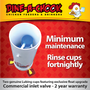 Our reliable mains pressure Chicken Drinker comes with a 2 year warranty on all parts!