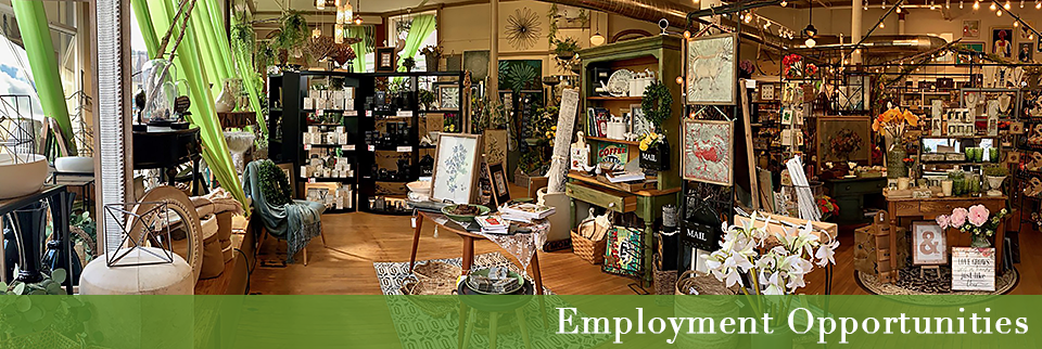 The Flower Lady—Milwaukee Florist—Employment Opportunities