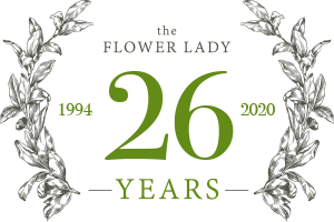 The Flower Lady — Celebrating 26 Years — 1994 to 2020
