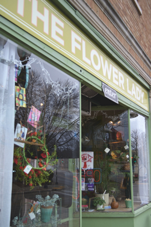 Milwaukee Florist, The Flower Lady Florist Shop, Villiage of Wauwatosa, Wisconsin