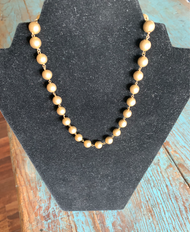 RIO - 18K Gold and White Gold Ball Necklace