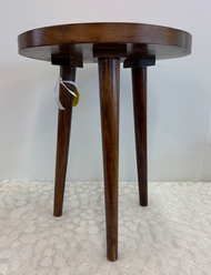 Wooden Tripod Accent Table