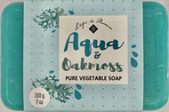 Rectangle Soap- Aqua & Oakmoss