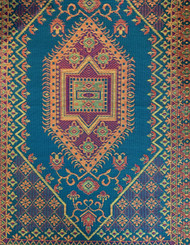 5x8 Turkish Plum Outdoor Rug