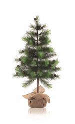 "22"" Tall Nordic Pine Tree"