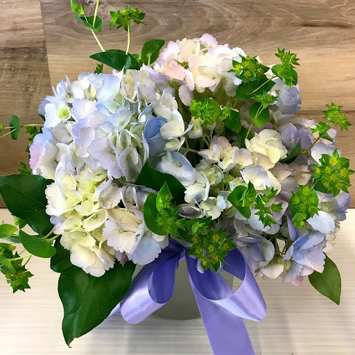 Bouquet Of Lavender Blue Hydrangeas By Milwaukee Florist The