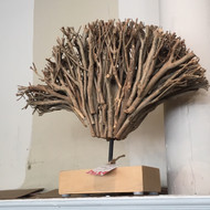 Modern Branch Sculpture