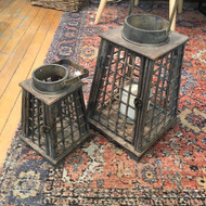 Wooden Lattice Lantern