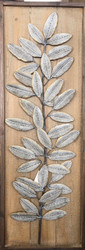 Metal Leaf Wall Sculpture