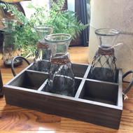 Wooden Decorative Caddy