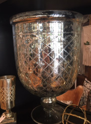Mercury Glass Urn