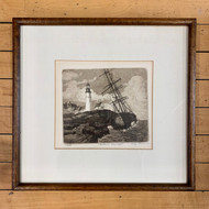 Original Nautical Etching by Farquharson