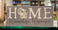 Home (Wauwatosa, Wisconsin) Wooden Sign