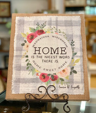 'Home Sweet Home' Canvas