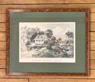 "Currier & Ives ""American Homestead Summer"""