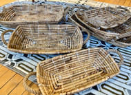Handwoven Serving Baskets