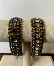Beaded Crystal Wrap Bracelet