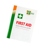Viritex First Aid In Brief - Treating First Aid Guidelines Booklet (A6)