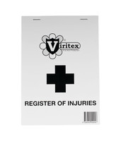 Viritex Register of Injuries Duplicate