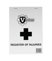 Viritex Register of Injuries Duplicate