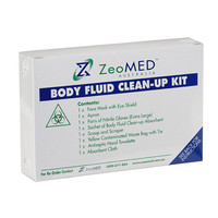 ZeoMED Body Fluid Clean Up Kit