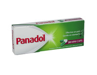 Panadol Mini Caps packaging