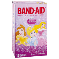BAND-AID Character Strips Princess Pkt 15