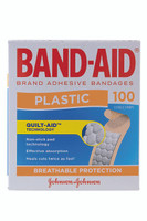 BAND-AID Plastic Strips Pkt 100