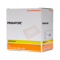 Primapore Flexible Adhesive Dressing 7.2cm x 5cm Box 50