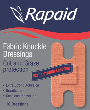 Pkt 10 Knuckle Dressings